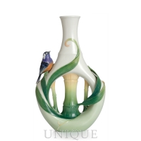 Franz Porcelain Peace and Harmony Bamboo: Vase