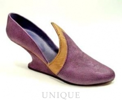 Just the Right Shoe Cork Wedge