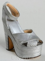 Just the Right Shoe Silver Cloud