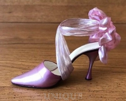 Just the Right Shoe Wrap It Up Blush