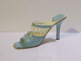 Just the Right Shoe Crystal Cascade, Ice Blue