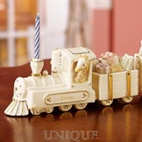 Lenox Classics Happy Birthday Express Train Sculpture