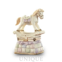 Lenox Classics Rocking Horse Treasure Box