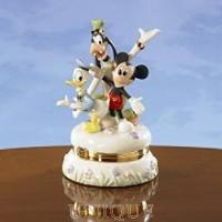 Lenox Classics Mickey & Friends Stamp Treasure Box