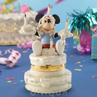 Lenox Classics Mickey's Birthday Surprise