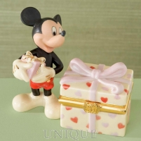 Lenox Classics Mickey's Heartfelt Treasure Box