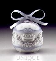 Lladro 2000 Christmas Ball Ornament