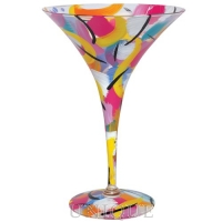 Lolita Glasses Art-tini Martini Glass