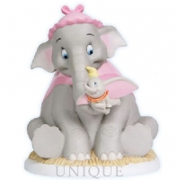 Precious Moments Dumbo with Mother