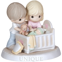 """Precious Moments """"We're Glad You Came Into Our Lives"""""""