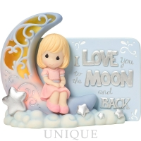 """Precious Moments """"I Love You To The Moon And Back"""""""