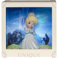 "Precious Moments ""Cinderella"" Resin/Vinyl LED Shadow Box"