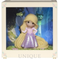 "Precious Moments ""Rapunzel"" Resin/Vinyl LED Shadow Box"