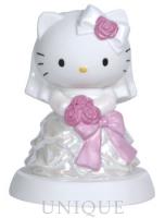 Precious Moments Hello Kitty Bride