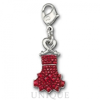 Swarovski Crystal Heart Truth Charm