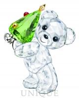 Swarovski Crystal Christmas Kris Bear