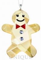 Swarovski Crystal Twinkling Gingerbread Man