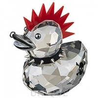 Swarovski Crystal Punk Duck
