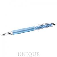 Swarovski Crystal Lady Ballpoint Pen Blue Pearl, Aquamarine