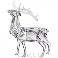 Swarovski Crystal Christmas Stag