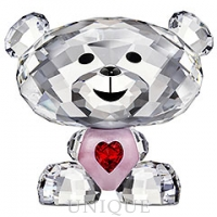 Swarovski Crystal Bo Bear - Sweet