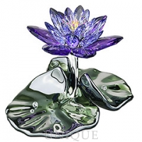 Swarovski Crystal Waterlily, Blue Violet