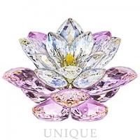 Swarovski Crystal Waterlilly Rosaline