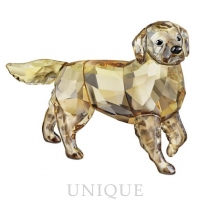 Swarovski Crystal Golden Retriever Mother
