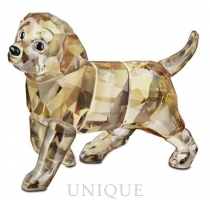 Swarovski Crystal Golden Retriever, standing
