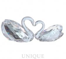 Swarovski Crystal Love Swans