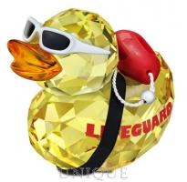 Swarovski Crystal Happy Duck - Lifeguard