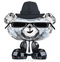 Swarovski Crystal Bo Bear - Blues Bo
