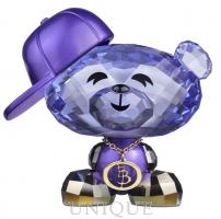 Swarovski Crystal Bo Bear - Hip-hop Bo