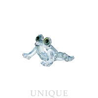 Swarovski Crystal Baby Frog