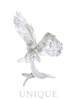 Swarovski Crystal Soulmates Snowy Owl