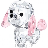 Swarovski Crystal Puppy - Rosie The Poodle