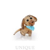 Swarovski Crystal Puppy - Milo The Dachshund