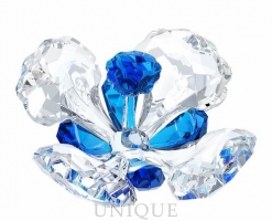 Swarovski Crystal SCS Peacock Flower
