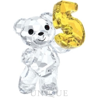 Swarovski Crystal Kris Bear - Number Five
