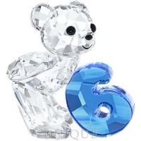 Swarovski Crystal Kris Bear - Number Six