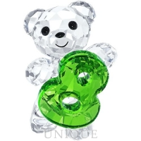 Swarovski Crystal Kris Bear - Number Eight