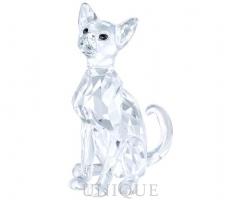 Swarovski Crystal Siamese Cat