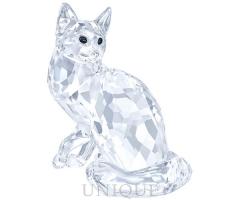 Swarovski Crystal Maine Coon Cat