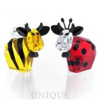 Swarovski Crystal Bumblebee & Ladybird Mo, Limited Edition 2016
