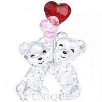 Swarovski Crystal Kris Bear - Heart Balloons
