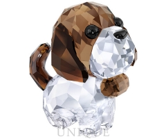 Swarovski Crystal Puppy - Bernie the Saint Bernard