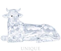 Swarovski Crystal Nativity Scene - Ox