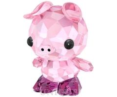 Swarovski Crystal Zodiac Determined Pig
