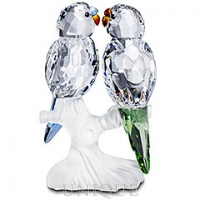 Swarovski Crystal Budgies