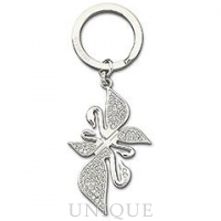 Swarovski Crystal Signature Swanflower Key Ring